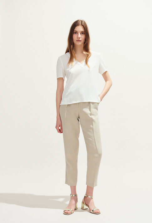 BOWLING BIS : Tops & chemises couleur ECRU