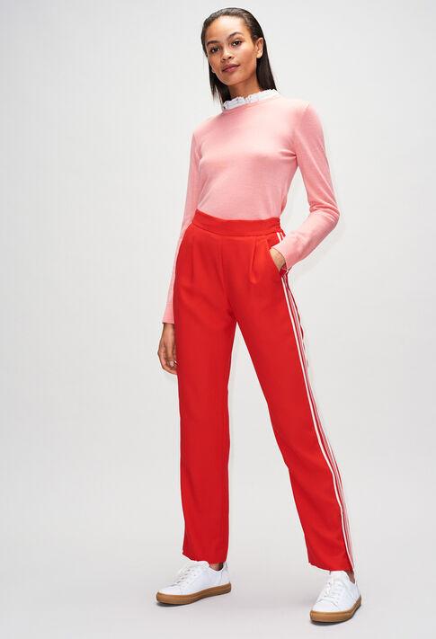 MIRAGEBisH19 : Maille & Sweatshirts couleur ROSE PECHE
