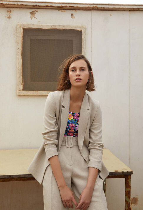 VALOR : Coats & Jackets couleur Naturel