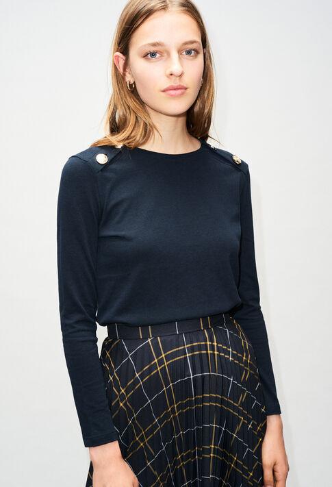 TOMBOYH19 : T-Shirts couleur MARINE
