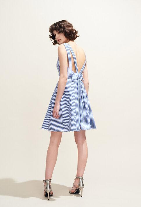 RENCONTRE RAYEE : Robes couleur Indigo