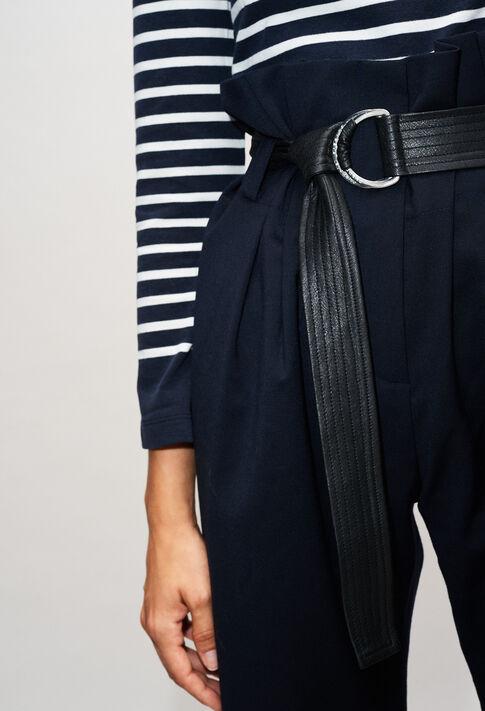 PIPIOUH19 : Pantalons et Jeans couleur MARINE