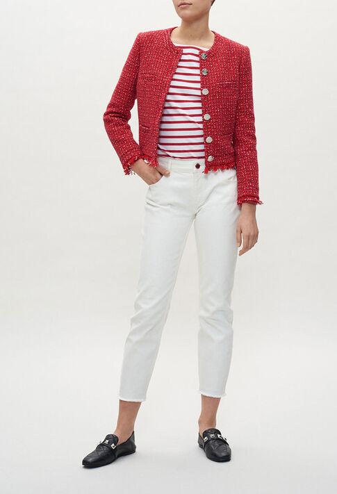 VICTORINE20 : Vestes couleur BICOLORE