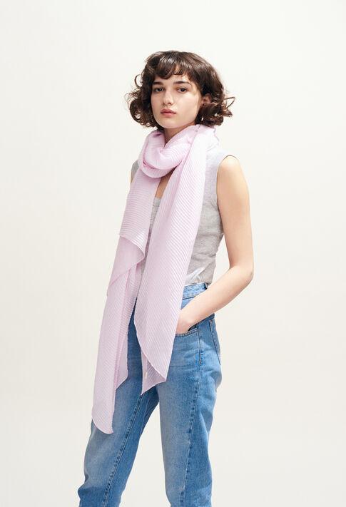 AERIEN : Foulards & Écharpes couleur Rose