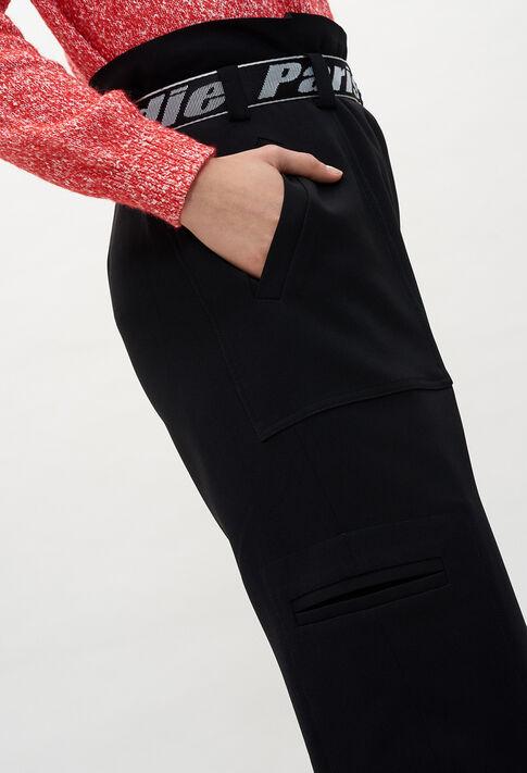PATTYE20 : Pantalons et Jeans couleur NOIR