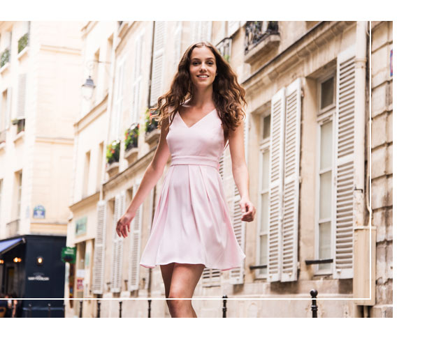 Robe rencontre rose claudie pierlot