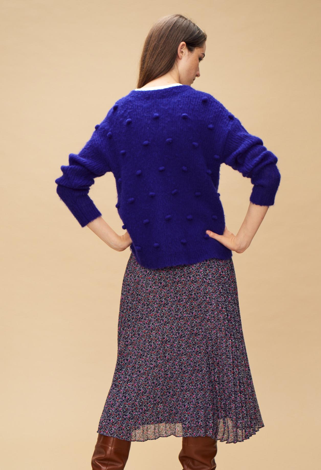 Sweatshirts amp; Violet Maille Mydots Couleur qAPwESB