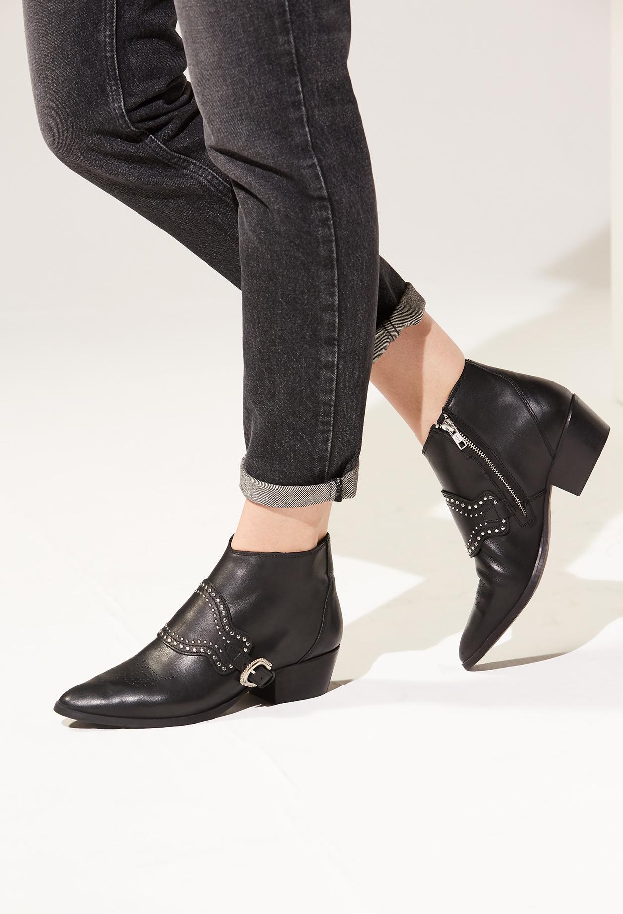 promo code e6a6a a88b3 Chaussures à lacets CLAUDIE PIERLOT cuir noir 36 tnSElvV3